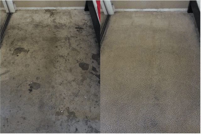 before after carpet cleaning 05